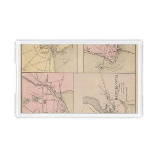 Camden, Wiscasset, Damariscotta, Newcastle Acrylic Tray