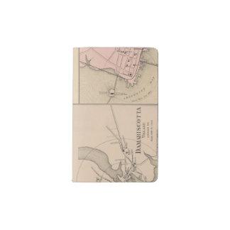 Camden, Wiscasset, Damariscotta, Newcastle Funda Para Libreta Y Libreta Pequeña Moleskine