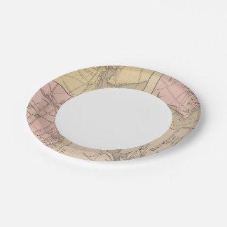Camden, Wiscasset, Damariscotta, Newcastle Paper Plate