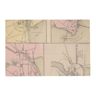 Camden, Wiscasset, Damariscotta, Newcastle Placemat
