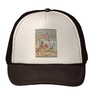Camden y gorras atlánticos del camionero del ferro
