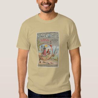 Camden y la camiseta atlántica de los hombres de playeras