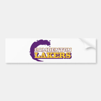 Camdenton Lakers (conferencia de Ozark) Pegatina Para Auto