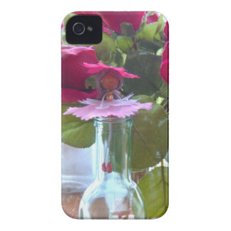came up to smell the roses.jpg iPhone 4 Case-Mate case