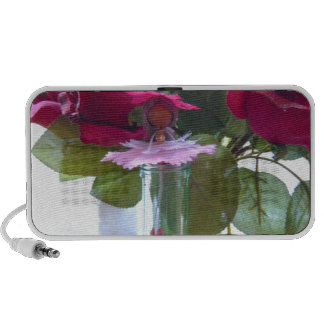 came up to smell the roses.jpg mini speaker