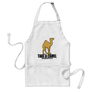 Camel Adult Apron