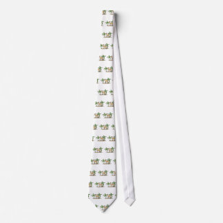 camel and palm trees neck tie