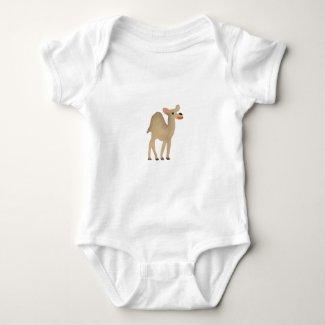 Camel Baby Bodysuit