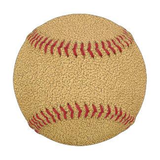 Camel Brown Ultrasuede Look Baseballs