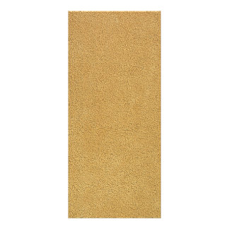 Camel Brown Ultrasuede Look Rack Card