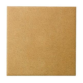 Camel Brown Ultrasuede Look Tile