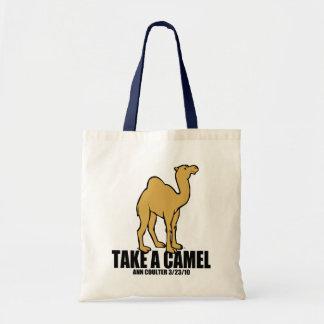 Camel Budget Tote Bag