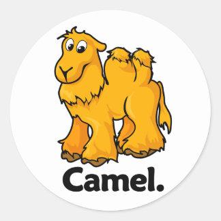 Camel Camel. Classic Round Sticker