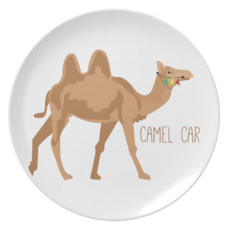 Camel Car Dinner Plate