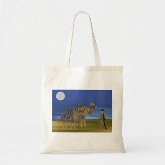 Camel Caravan Tote Bag