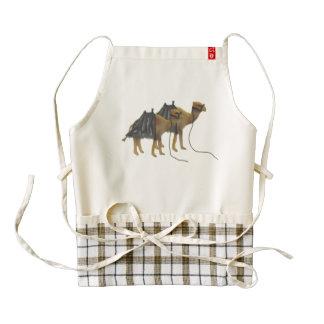 Camel Caravan Zazzle HEART Apron