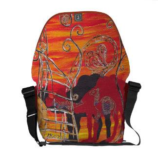 Camel Carnival 2 Messenger Bag