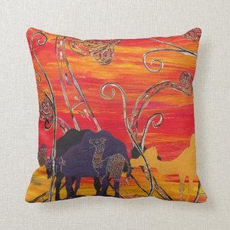 Camel Carnival 3 Pillow