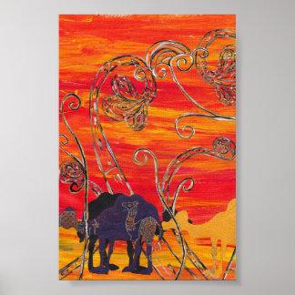 Camel Carnival 3 Print