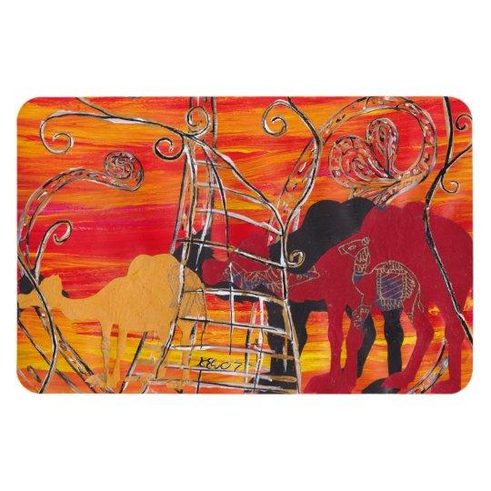 Camel Carnival Magnet