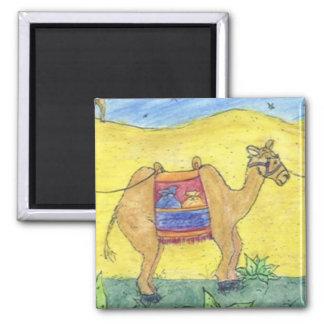 camel christmas magnet
