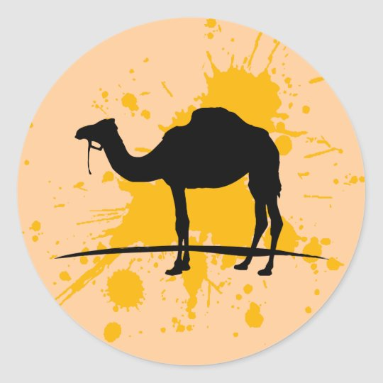 Camel Classic Round Sticker