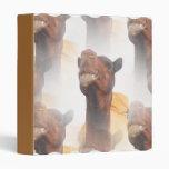 Camel Collage Binder