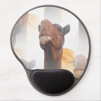 Camel Collage Gel Mouse Pad