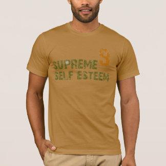 Camel color Supreme Self Esteem tee