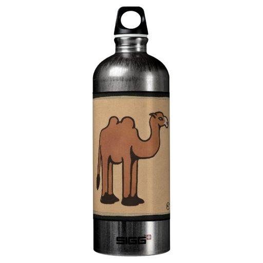 Camel - Colorful Antiquarian Book Illustration SIGG Traveler 1.0L Water Bottle