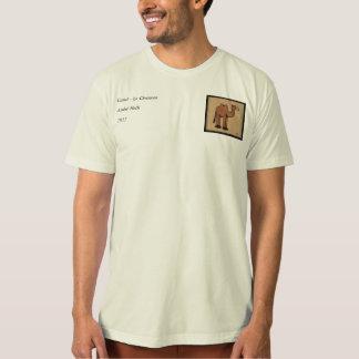 Camel - Colorful Antiquarian Book Illustration T-Shirt