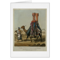 Camel Conveying a Bride to her Husband, engraved b