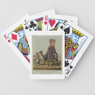 Camel Conveying a Bride to her Husband, engraved b Bicycle Playing Cards