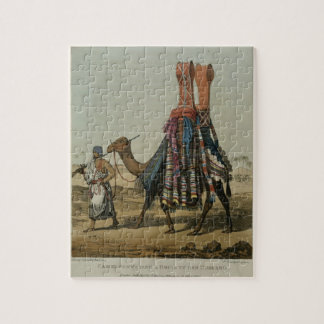 Camel Conveying a Bride to her Husband, engraved b Jigsaw Puzzle