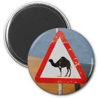 Camel Crossing Club Afgjhanistan Chapter 2 Inch Round Magnet