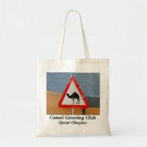Camel Crossing Club Qatar Chapter Tote Bag