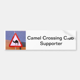 Camel Crossing Club Supporter Bumper Sticker