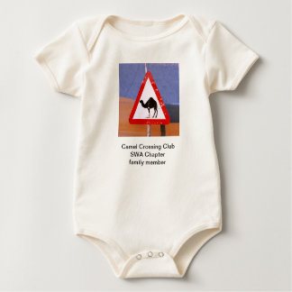 Camel Crossing Club SWA Chapter family member Baby Bodysuit