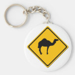 Camel Crossing Keychain