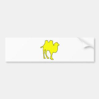 Camel Desert Horse Hump Mammal Bumper Sticker