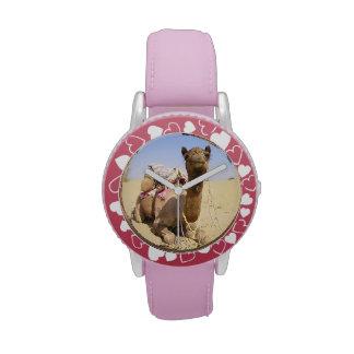 Camel Desert Middle East Peace Love Nature Destiny Wristwatches
