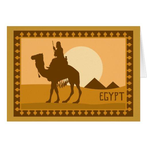 Camel Egypt Card