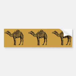 Camel Encrypted Bumper Sticker
