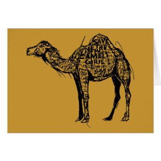 Camel Encrypted Card