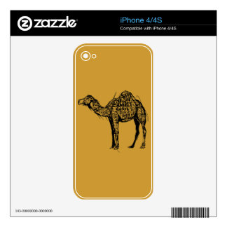 Camel Encrypted Decal For The iPhone 4