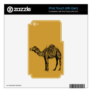 Camel Encrypted iPod Touch 4G Skins