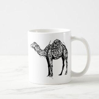 Camel Encrypted Classic White Coffee Mug