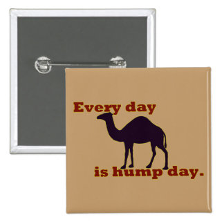 """Camel """"Every Day is Hump Day"""" Pin"""