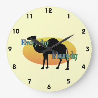 Camel - Every day is hump day Wallclocks