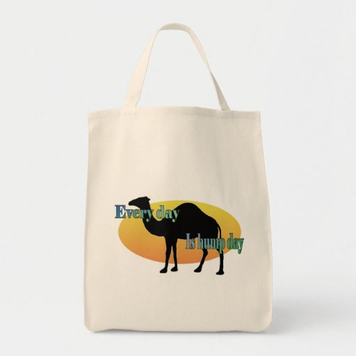 Camel - Every Day is Hump Day Tote Bag